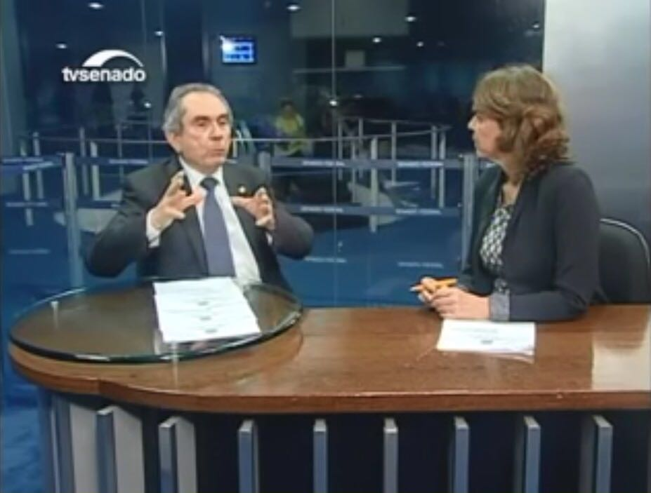 raimundo lira entrevista - Raimundo Lira fala a TV Senado sobre duplicação da BR 230 e Ramal Piancó