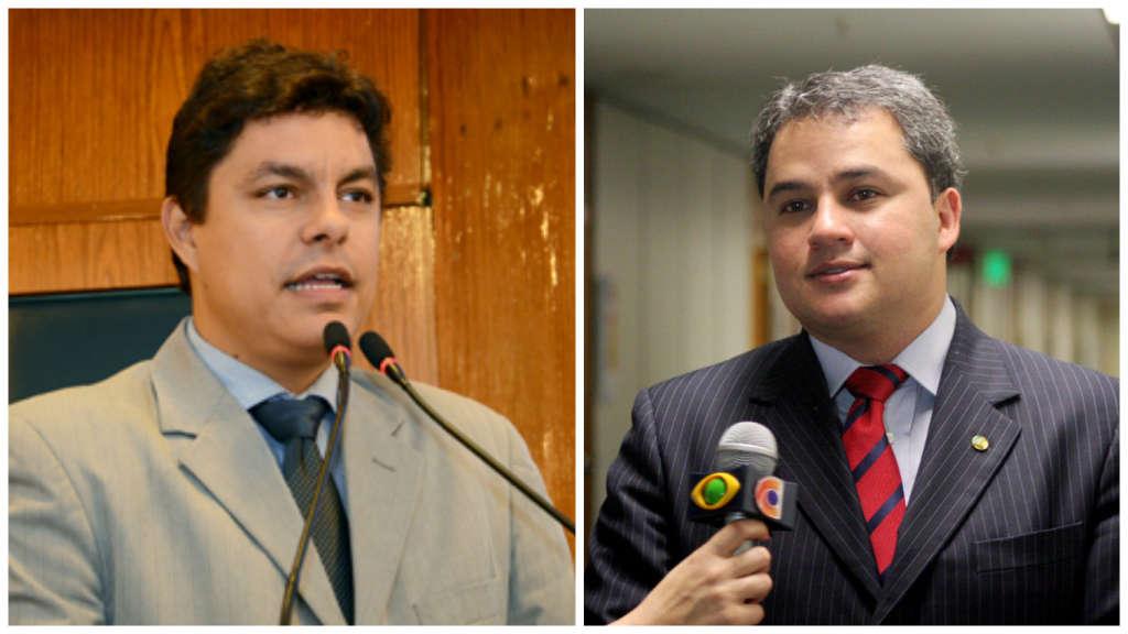 raoni e efraim - Efraim endossa filiação de Raoni e anuncia vereador como novo presidente em JP