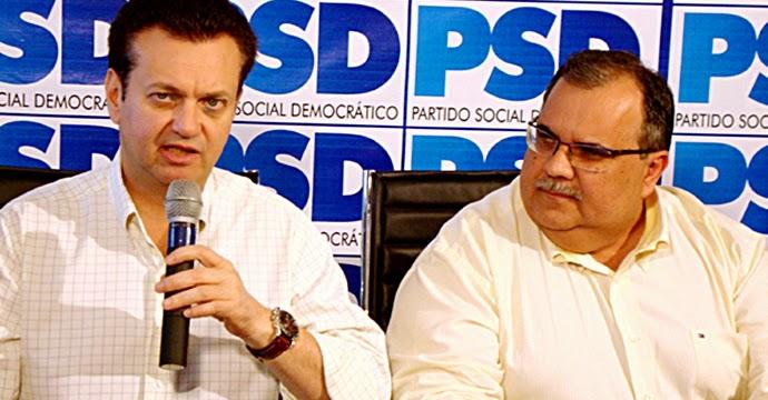 romulo e Gilberto Kassab - Em pré-convenção na PB, Kassab define o nome de Zenildo para disputar prefeitura de Sousa
