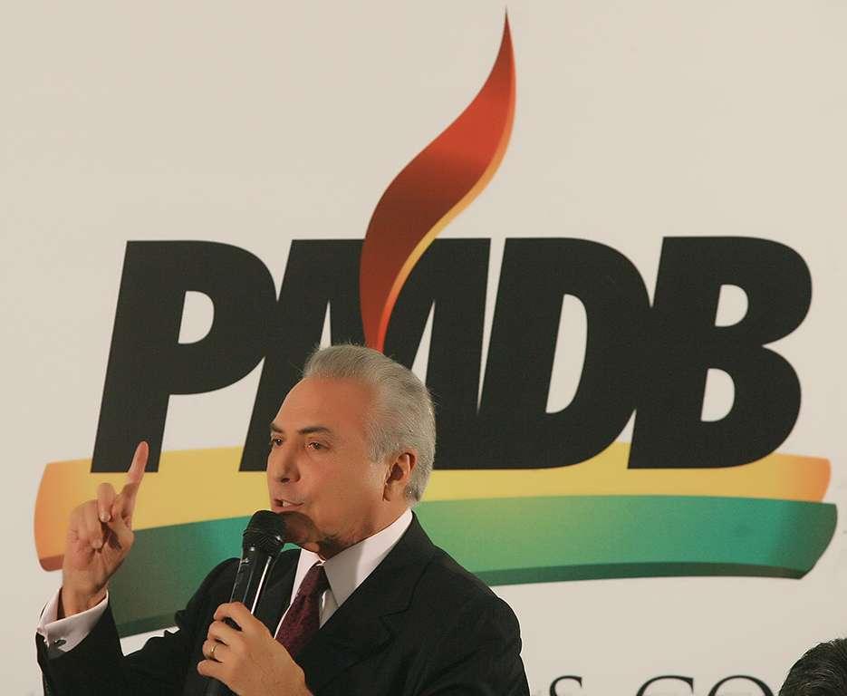 temer - Temer convoca reunião nacional do PMDB para decidir saída do governo