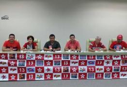 Partido dos Trabalhadores prevê candidatura própria em pelo menos 40 municípios paraibanos