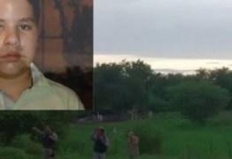Encontrado corpo do garoto Erick que estava desaparecido há quatro dias em Pombal – VEJA VÍDEO