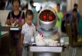 """Garçons robôs são """"demitidos"""" por incompetência na China"""