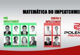 MATEMÁTICA DO IMPEACHMENT: Wellington Roberto escolhe um lado e Paraíba não tem mais indecisos