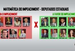 Bosco sai do muro: confira o posicionamento dos deputados estaduais da PB sobre o processo de impeachment