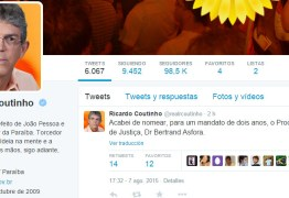 Após derrota de Dilma na Câmara, Ricardo desabafa e rebate internautas