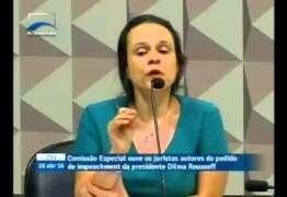 Janaína Paschoal admite ter recebido R$ 45 mil do PSDB em troca do parecer