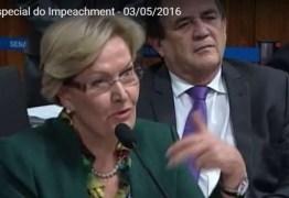 Comissão de Impeachment discute com especialistas indicados pelo governo