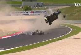 ESPETACULAR: Filho de Piquet sofre outro acidente grave, mas passa bem – VEJA VÍDEO