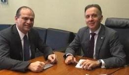 Aguinaldo Ribeiro discute com ministro Saúde liberação de recursos para a Paraíba
