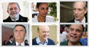 CANDIDATOS PRES 2018 300x159 - Lula tem 22%, Marina 17% e Aécio 14%, aponta Datafolha