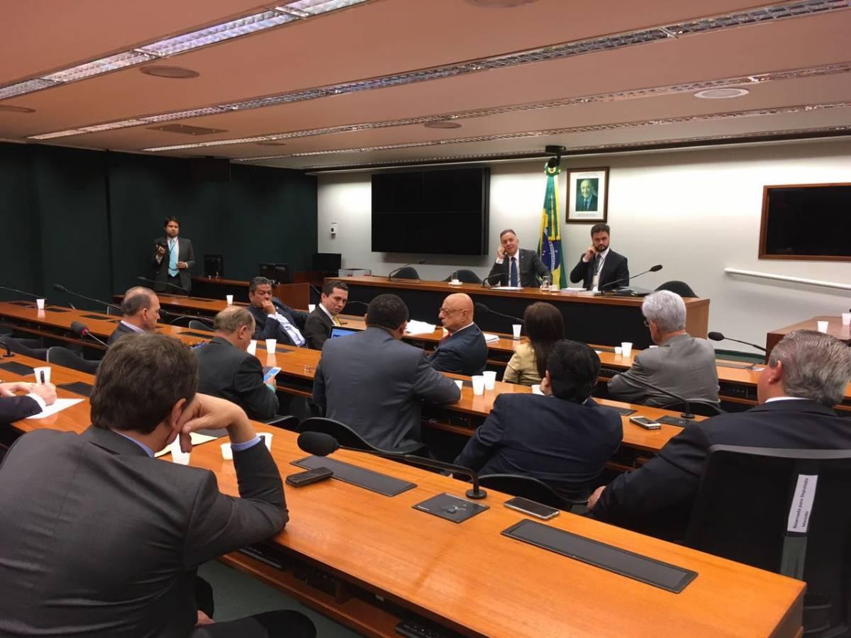 bancada 1 - Aguinaldo Ribeiro reúne Bancada do PP para escolher o candidato da sigla para a presidência da Câmara