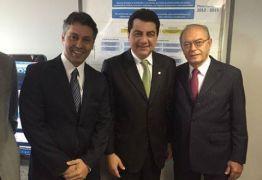 Manoel Junior prestigia posse de Leonardo Gadelha na presidência do INSS