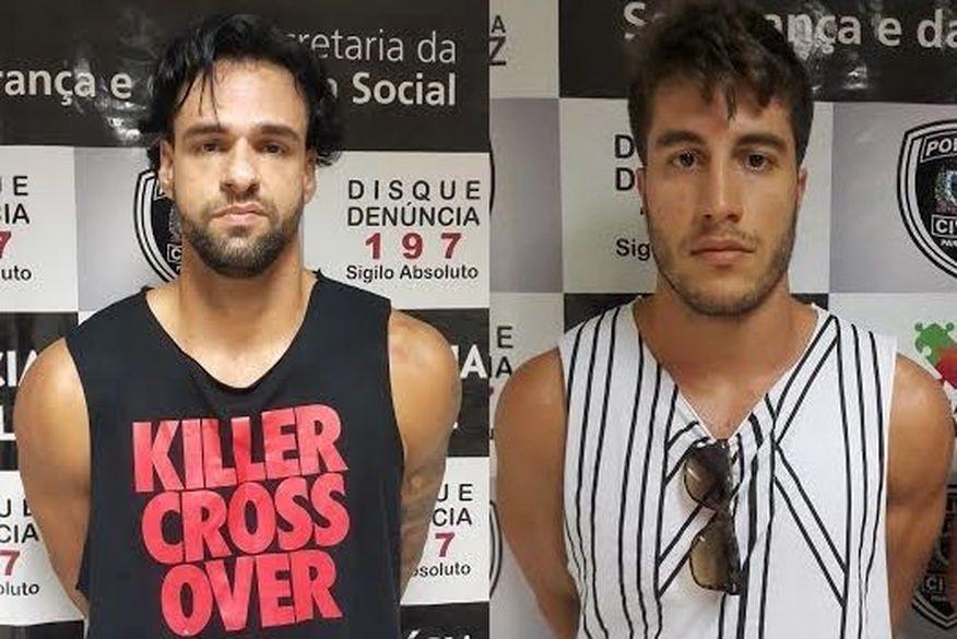 caio gabino e pedro uchoa 1 - DEBOCHOU DA JUSTIÇA: Justiça decide manter na cadeia campeão mundial de handebol de areia e personal trainer