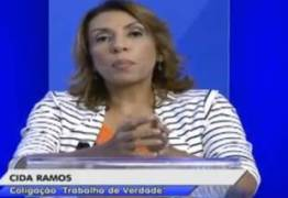 DEBATE DA ARAPUAN: Cida acusa Cartaxo de praticar nepotismo na gestão municipal