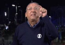 Galvão Bueno se irrita e manda Felipe Melo parar de dar entrevistas