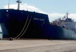 Paraíba exporta 13 mil toneladas de ilmenita de Mataraca para Holanda