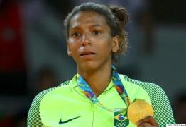 Rafaela Silva diz que doping foi causado por contato com filha de amiga