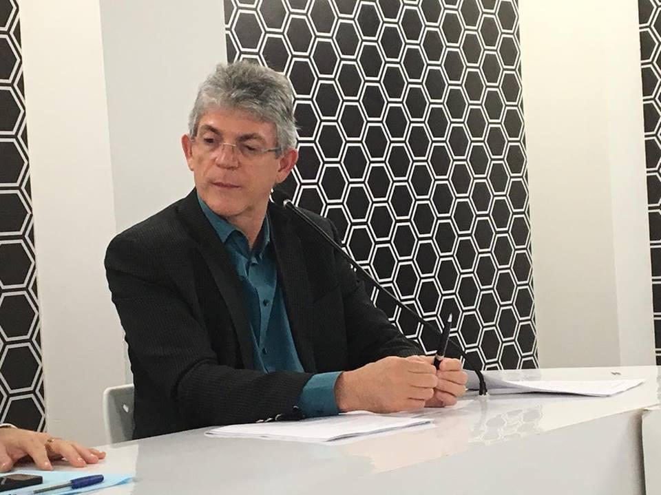 ricardo coutinho - Ricardo defende 'eleições gerais' no Brasil como solução para golpe contra Dilma