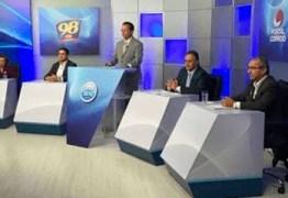 DOMINGO DE DEBATE EM JOÃO PESSOA:  TV Correio promove hoje debate entre os candidatos a prefeito de João Pessoa