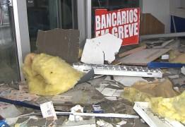 CERCO AOS BANCOS: Justiça condena banco explodido a reabrir em 90 dias na Paraíba