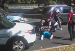 CENA FORTE: Negro sendo morto pela polícia gera protestos – VEJA VÍDEO DA MORTE