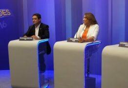 Debate na TV Cabo Branco termina com crítica de candidato e resposta de mediador: 'A Globo não está sendo avaliada aqui'