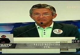 DEBATE NA MASTER: Paulo Nogueira garante abrir maternidade se for eleito prefeito de Cabedelo