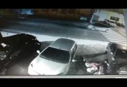 IMAGENS FORTES – Câmera de segurança flagra tentativa de homicídio em Manaíra