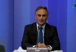 DEBATE CABO BRANCO: Cartaxo diz que Cida não tem coragem de propor ações de segurança pública