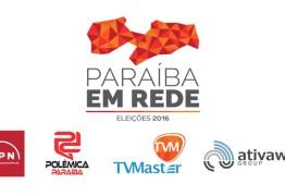 """CONVERGÊNCIA: """"Paraíba em Rede""""  faz cobertura completa das eleições 2016 na Paraiba; saiba como integrar essa equipe campeã"""