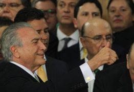 O QUATRILHO: Quatro Ministros de Temer são denunciados de uma vez só vez