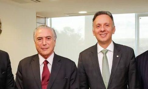 aguinaldo ribeiro e o presidente temer e1486248987798 - ORGANIZAÇÃO CRIMINOSA: Janot denuncia ao Supremo o 'quadrilhão' do PP e Aguinaldo Ribeiro é o alvo