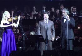 """Daniel e Andrea Bocelli emocionam cantando """"Ave Maria"""" em Show em Aparecida do Norte – VEJA VÍDEO"""