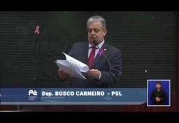 Deputado Bosco Carneiro defende distribuição de medicamentos raros pelo Estado