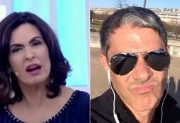 Bonner e Fátima terão encontro difícil em gravação na Globo