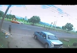 IMPRESSIONANTE – Vídeo mostra suposto 'espírito' saindo de corpo logo após um acidente