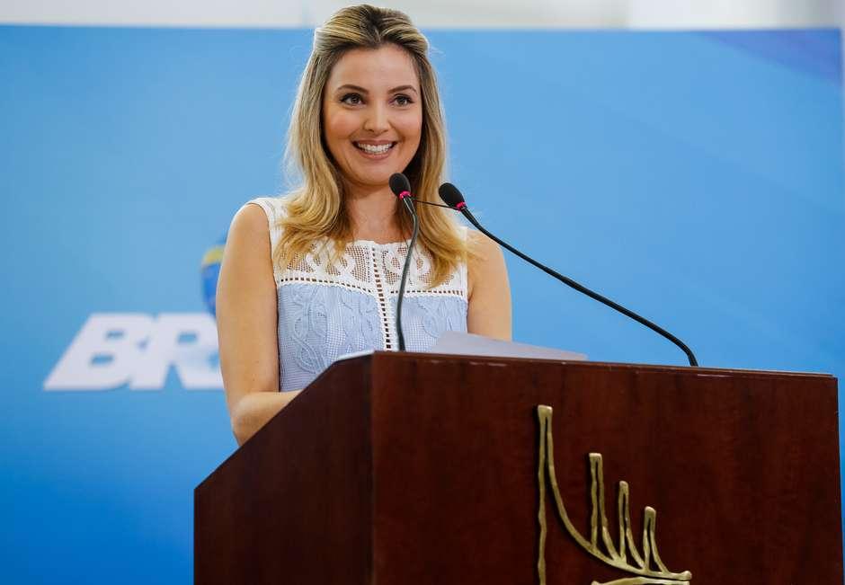 marcela temer lancamento programa crianca felizcarolina antunespr - VEJA VÍDEO: Michel e Marcela Temer lançam programa social para crianças