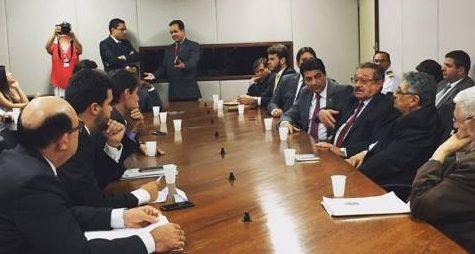 reunião paraiba bancada e1476915813504 - Bancada federal da Paraíba pode apresentar até 18 emendar a LOA 2017 do governo Temer