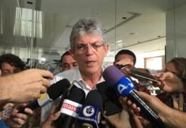 PESSOALMENTE: Ricardo Coutinho vai protocolar recurso contra racionamento na Justiça Federal em Recife