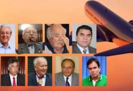 FARRA DAS PASSAGENS:  Ex-deputados gastaram R$ 25 milhões aponta Procuradoria – VEJA QUANTO CADA PARAIBANO GASTOU