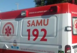 Homem é detido pela PM após ameaçar equipe do Samu