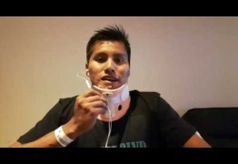 ASSISTA: Sobrevivente do voo da Chapecoense tem alta e grava vídeo de agradecimento