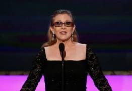 Morte de Carrie Fisher renderá 50 milhões de dólares para a Disney