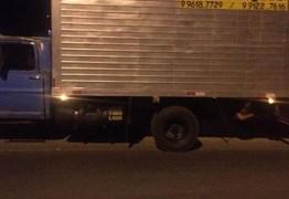 Caminhão é apreendido com os equipamentos da UPA de Sousa