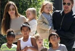 Brad Pitt teria se irritado com Angelina Jolie após filha caçula do casal sofrer acidente