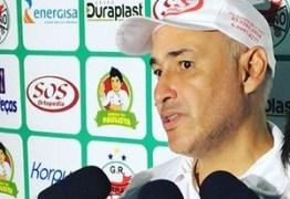 Técnico do Serrano-PB reclama de imaturidade de time diante do Bota-PB