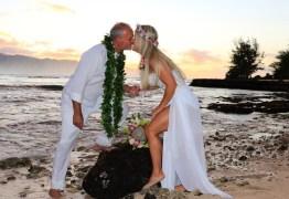 Kadu Moliterno se casa pela segunda vez com a mesma mulher