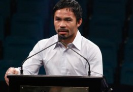 Manny Pacquiao diz que aceitaria enfrentar McGregor em luta de boxe