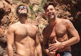 Ricky Martin revela que conheceu o noivo pelo Instagram